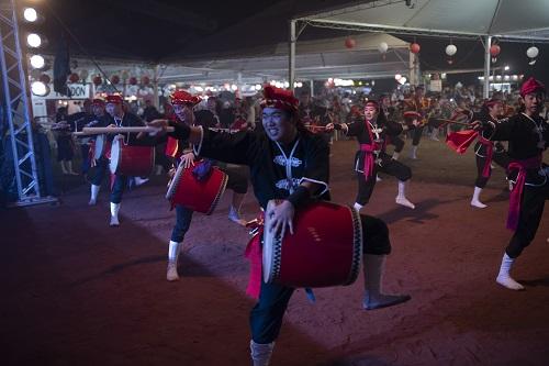 Tambores no Calçadão marcam lançamento da Expo Japão 2019