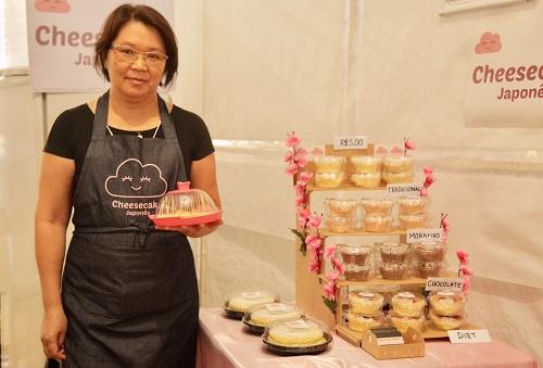 Cannoli, choux e cheesecake na Expo Japão