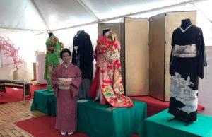 Exposição inédita de quimonos, leques e maquetes em Washi
