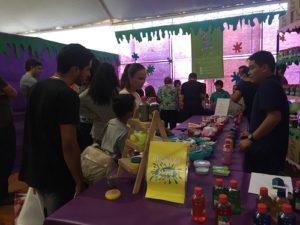 A febre da Slime na Expo Japão